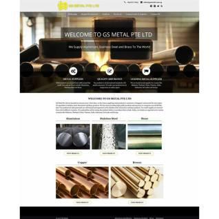 Metal supplier website