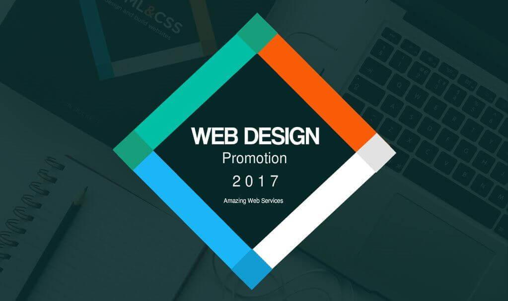 Web design promotion