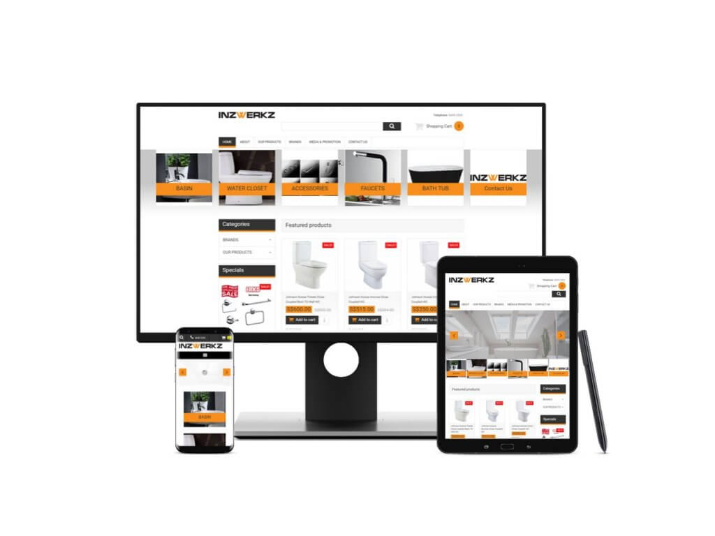 Bathroom eCommerce Website